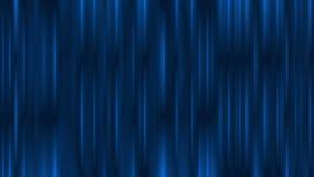 Animazione astratta d'ardore blu scuro delle bande video stock footage