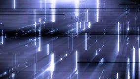 Animazione astratta futuristica del fondo delle luci stock footage