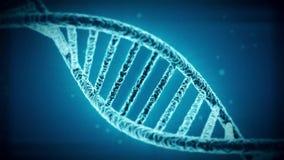 animazione 3d di un DNA di giro royalty illustrazione gratis