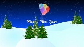 Animazione del buon anno royalty illustrazione gratis