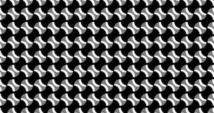 Animazione del modello geometrico, progettazione dell'ornamento stock footage