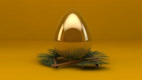 Animazione dell'uovo di Pasqua 3d archivi video