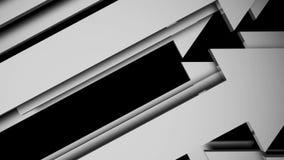 Animazione delle frecce di fondo illustrazione vettoriale