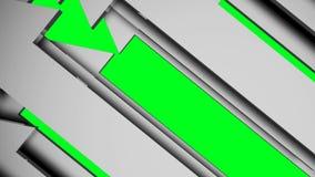 Animazione delle frecce di fondo illustrazione di stock