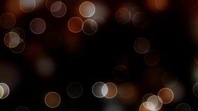 Animazione delle palle trasparenti su un fondo nero stock footage