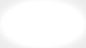 Animazione di affari di euro monete su fondo bianco archivi video