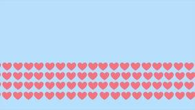 Animazione di amore del modello del fondo Giorno felice del biglietto di S royalty illustrazione gratis