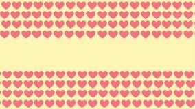 Animazione di amore del modello del fondo Giorno felice del biglietto di S illustrazione vettoriale
