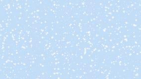 Animazione di caduta della neve 4K archivi video