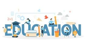 Animazione di concetto di istruzione illustrazione vettoriale