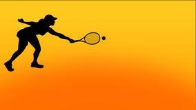 Animazione di tennis