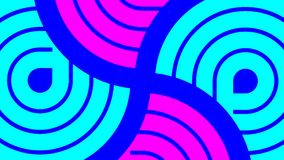Animazione dinamica di moto di progettazione moderna archivi video