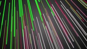 Animazione fantastica con l'oggetto della banda nel moto, ciclo HD 1080p archivi video