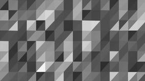 Animazione loopable lowpoly del fondo poligonale illustrazione di stock