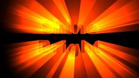 Animazione luminosa di lustro stock footage