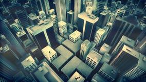 Animazione metropolitana del ciclo della città video d archivio