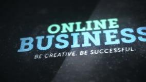 Animazione online del video del fondo di affari