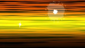 Animazione senza cuciture della linea animata e comica fondo di velocità Effetto a finestra comico di esplosione del fumo e della illustrazione di stock
