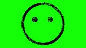 Animazione sorpresa dell'emoticon illustrazione vettoriale