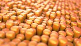 animazioni dei primitivi 3d Fotografie Stock Libere da Diritti