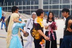 Anime καρναβάλι Στοκ Εικόνες