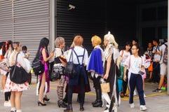 Anime καρναβάλι Στοκ φωτογραφία με δικαίωμα ελεύθερης χρήσης