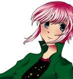 anime κορίτσι Στοκ φωτογραφία με δικαίωμα ελεύθερης χρήσης