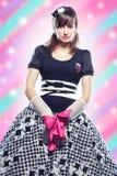 anime κορίτσι Στοκ Εικόνα