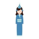 anime avatar kimono has party Stock Photos