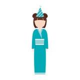 anime avatar kimono has party Stock Photography