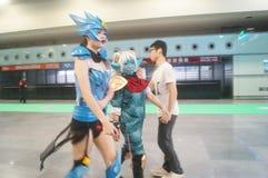 Anime Carnival Stock Image