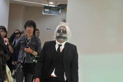 Anime costume contest in Indonesia Stock Photo
