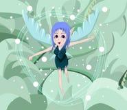 anime czarodziejka Fotografia Royalty Free