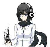 Anime dziewczyna Zdjęcia Stock