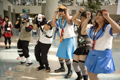 Anime Expo 2008 8511 Royalty Free Stock Image
