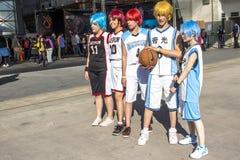 Anime-Freunde Lizenzfreies Stockfoto