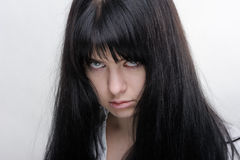 Anime girl royalty free stock photos