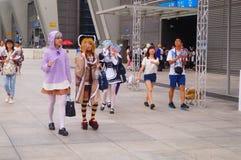 Anime karnawał Zdjęcie Stock