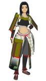 Anime Lady Samurai Royalty Free Stock Image