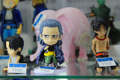Anime manga dolls Stock Photo
