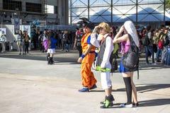 Anime przyjaciele Fotografia Stock