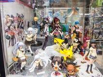 Animelager på Akihabara den elektriska staden, Tokyo fotografering för bildbyråer