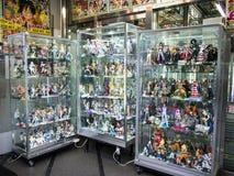 Animeopslag bij de Elektrische Stad van Akihabara, Tokyo Stock Afbeeldingen