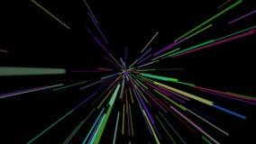 Animering för ljus hastighet vektor illustrationer