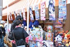 animesäljare Royaltyfri Fotografi