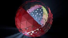 Animowana sfera Zdjęcia Royalty Free