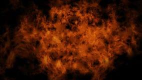 Animowana tekstura - płomienie zbiory wideo
