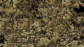 Animowanego pobrudzonego tła brązu i beżu wideo naturalni kolory zdjęcie wideo