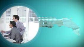 Animowani dyski o biznesie zdjęcie wideo