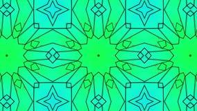 Animowani stubarwni wzory abstrakcja kalejdoskop 3 d czyni? royalty ilustracja